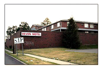 Devon Motel location
