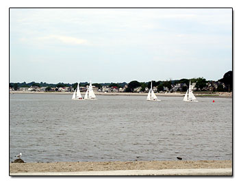 Sailboats at Gulf Beach
